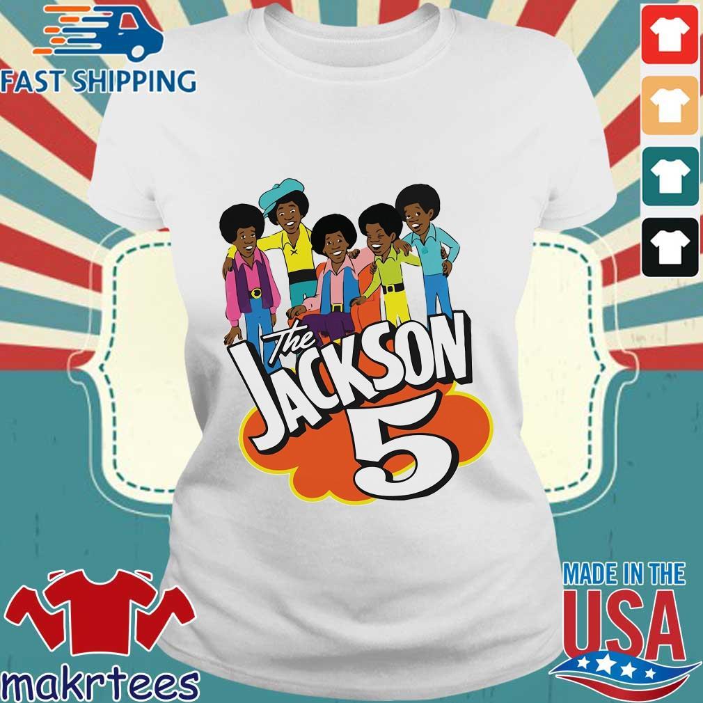 The Jackson 5 Cartoon Shirt Ladies trang