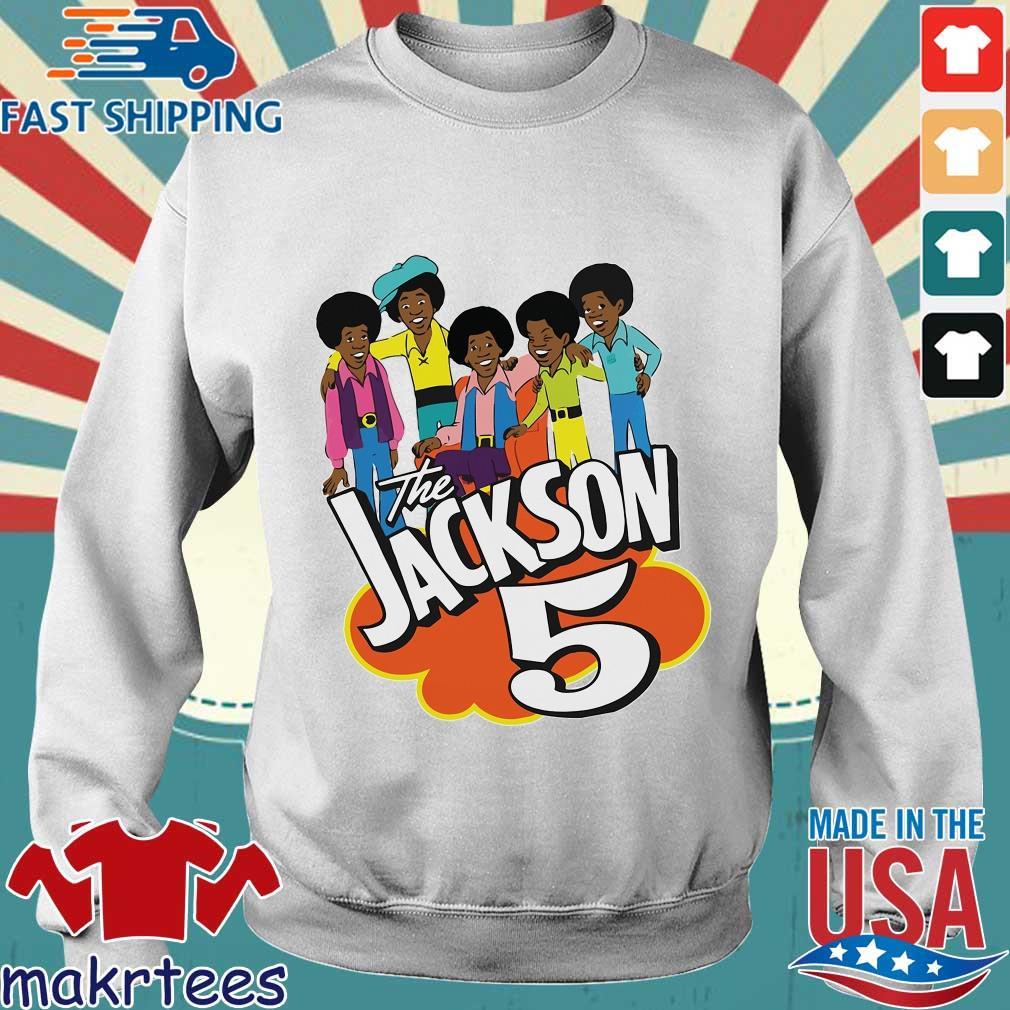 The Jackson 5 Cartoon Shirt Sweater trang