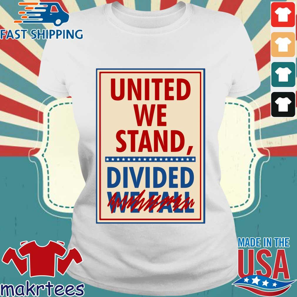 The Late Show With Stephen Colbert United We Stand Tee Shirts Ladies trang