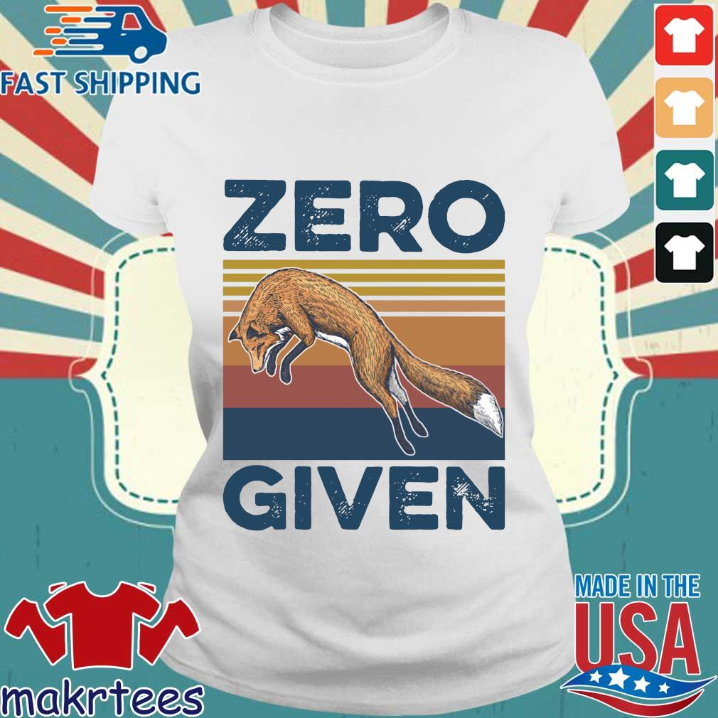The Wolf Zero Given Vintage Shirt Ladies trang