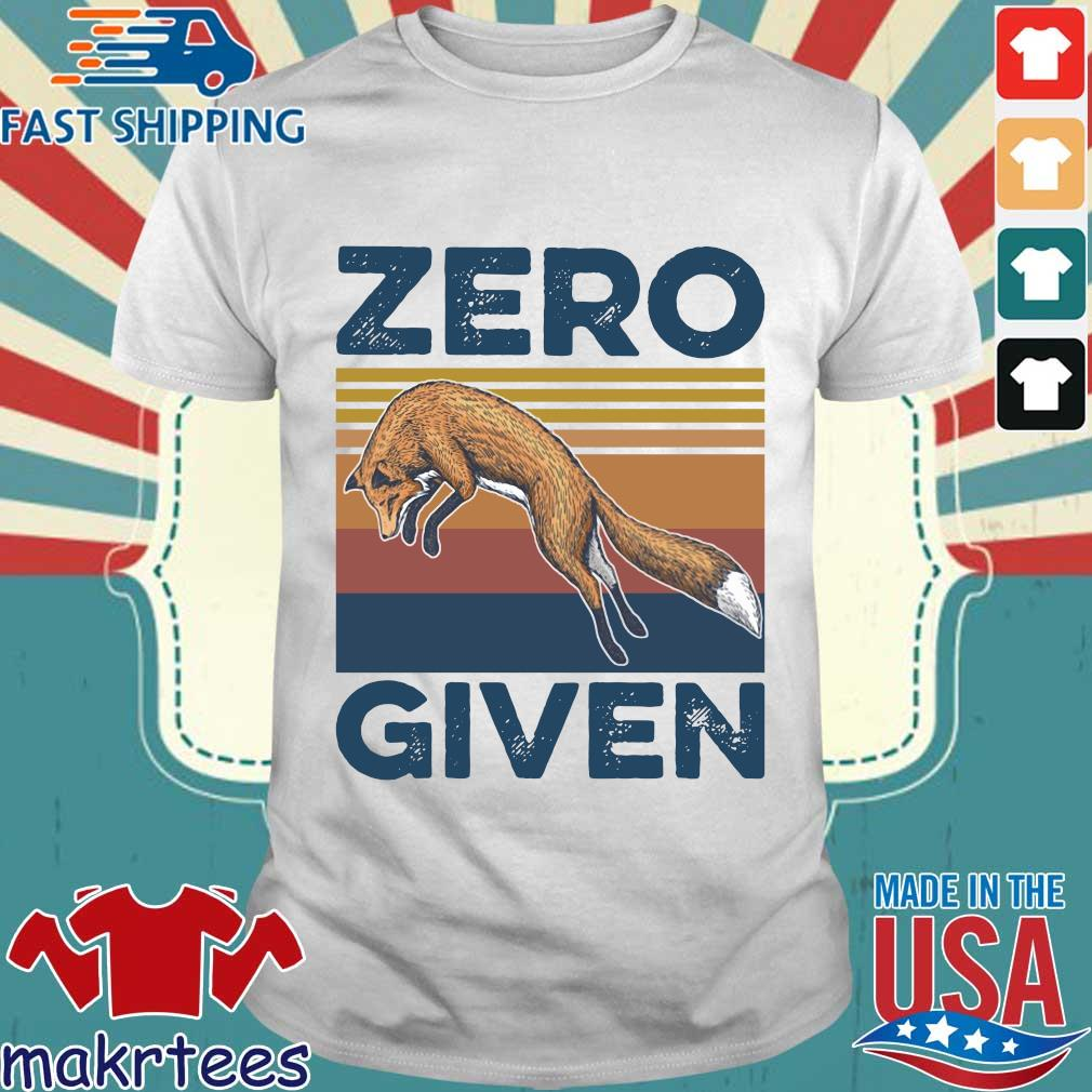 The Wolf Zero Given Vintage Shirt