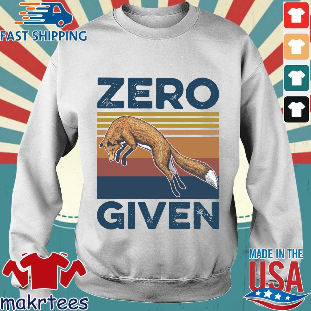The Wolf Zero Given Vintage Shirt Sweater trang