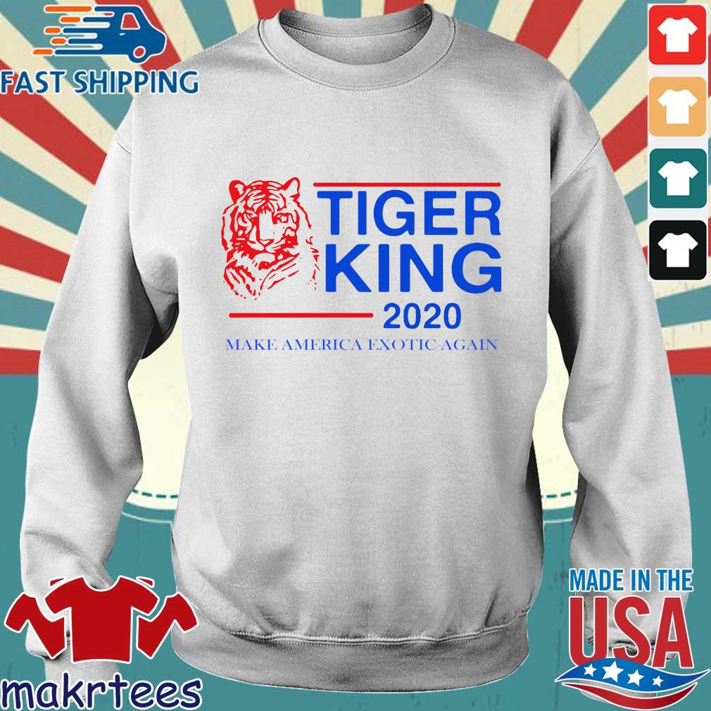Tiger King 2020 Make America Exotic Again T-s Sweater trang