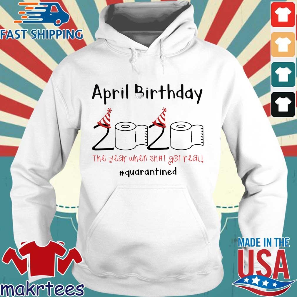Toilet Paper 2020 April Birthday quarantine For Tee Shirt Hoodie trang