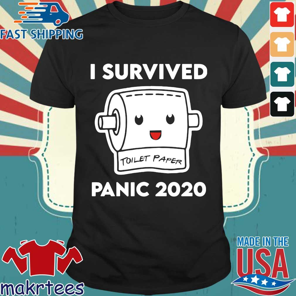 Toilet Paper Shortage Virus Flu Panic 2020 Shirt
