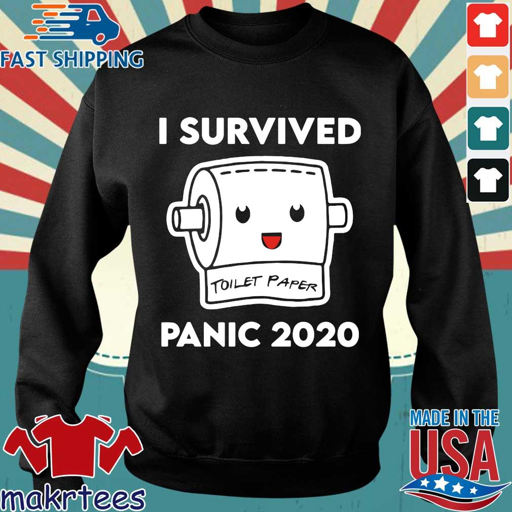 Toilet Paper Shortage Virus Flu Panic 2020 Shirt Sweater den