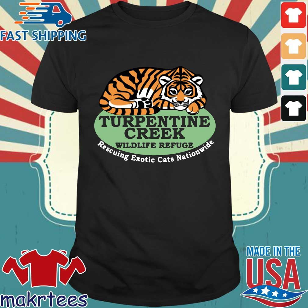Turpentine Creek Wildlife Refuge Rescuing Exotic Cats Nationwide Shirt