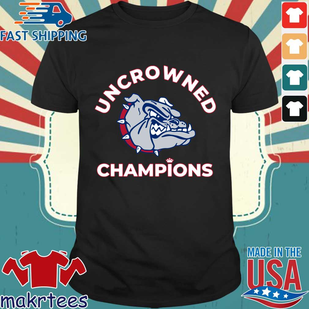 Uncrowned Champions Gonzaga basketball Official Shirt