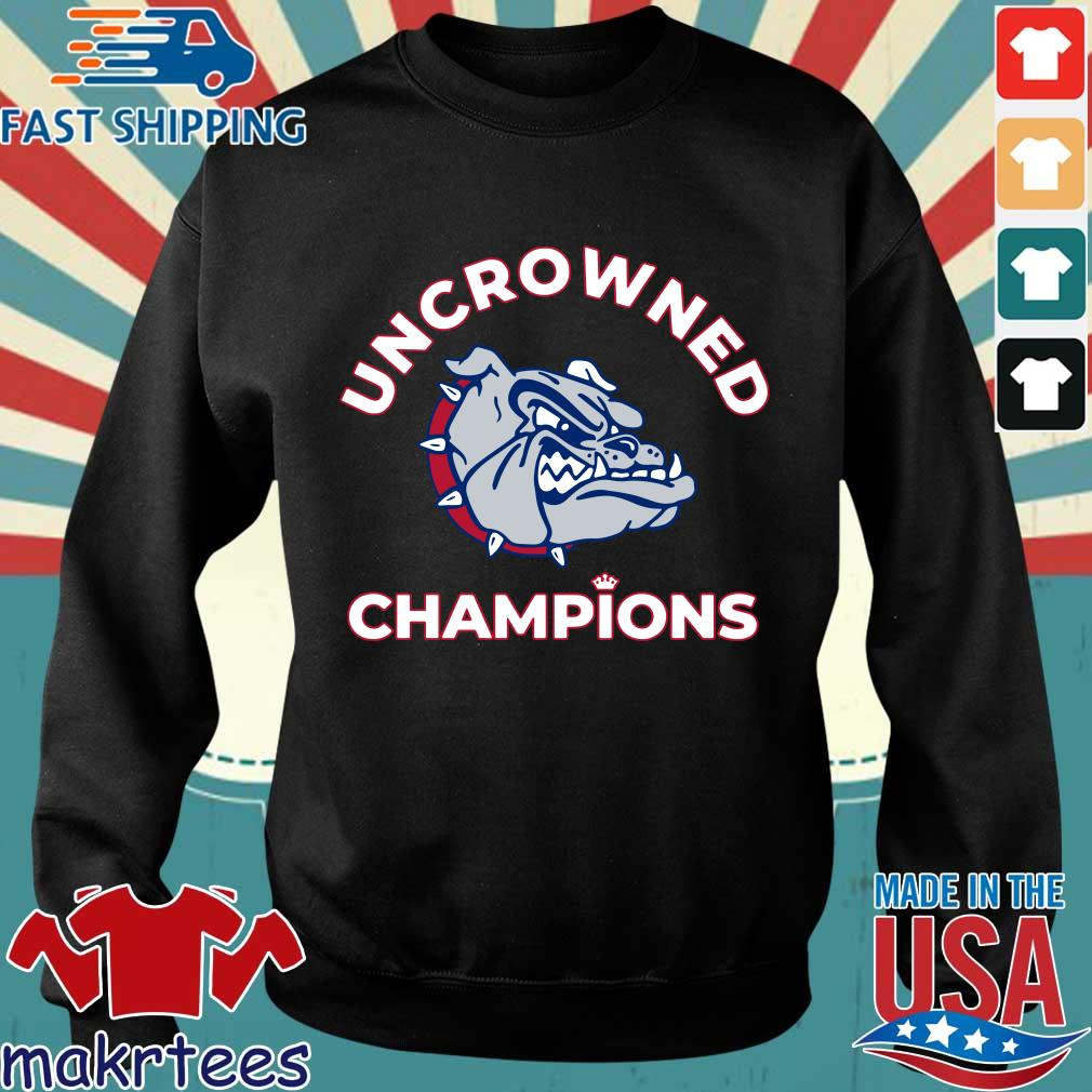 Uncrowned Champions Gonzaga basketball Official Shirt Sweater den