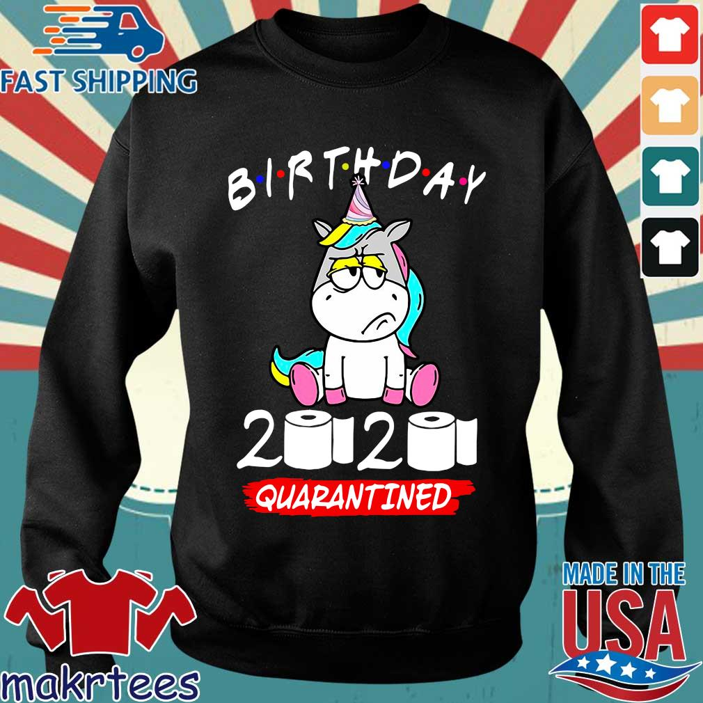 Unicorn Birthday 2020 Toilet Paper Quarantined Shirt Sweater den
