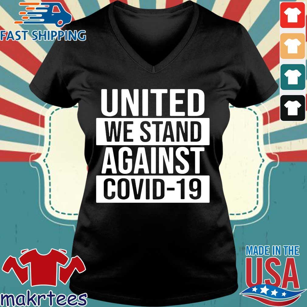 United We Stand Against Covid-19 2020 T-s Ladies V-neck den