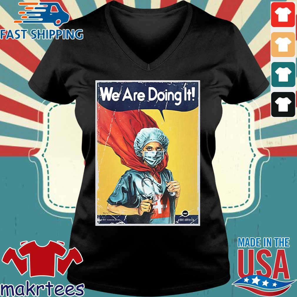 Vault Comics We Are Doing It Tee Shirt Ladies V-neck den