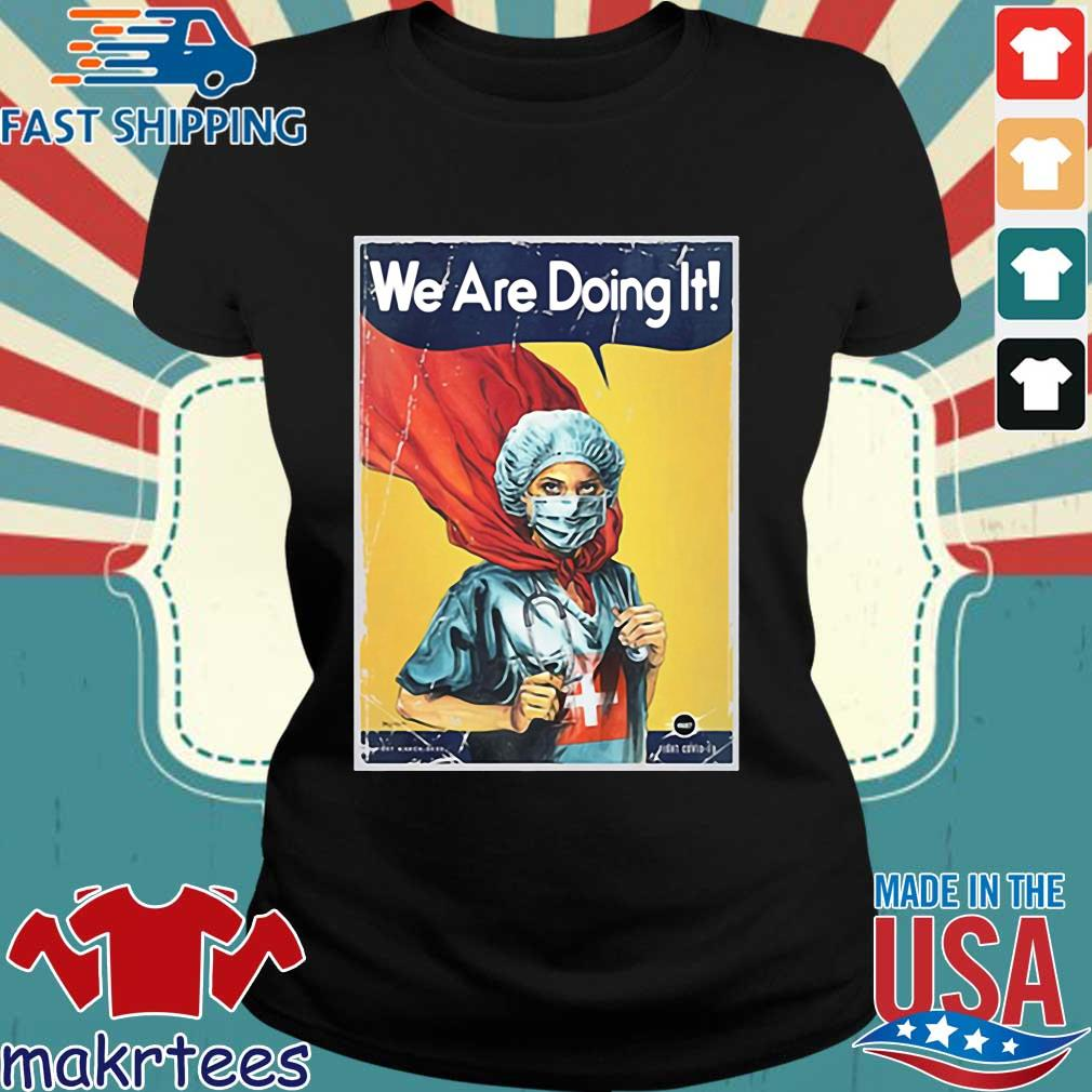 Vault Comics We Are Doing It Tee Shirt Ladies den