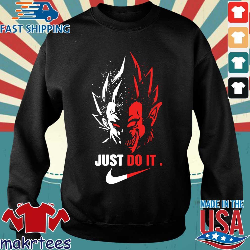 Vegeta Vs Songoku Just Do It Shirt Sweater den