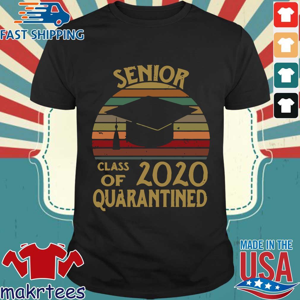 Vintage Seniors Class Of 2020 Quarantined Shirt