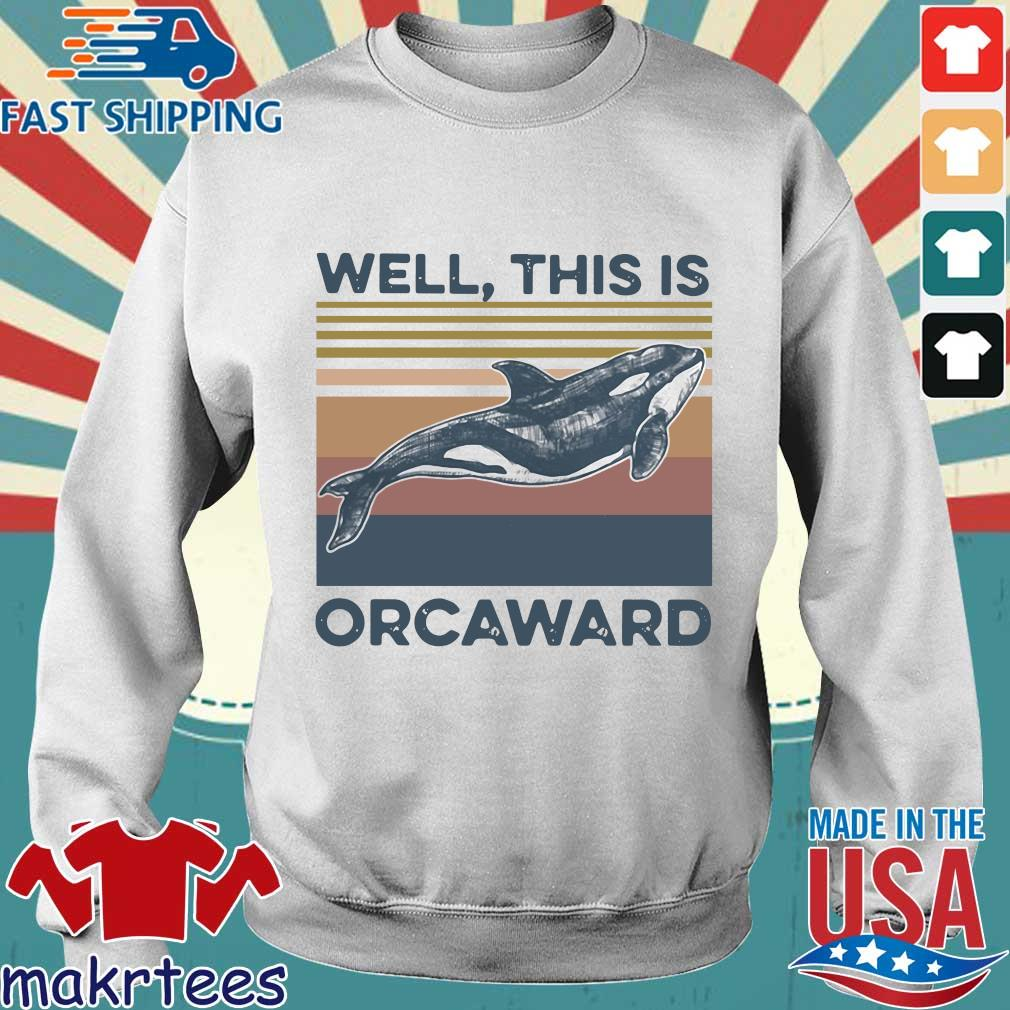 We This Is Orcaward Fish Vintage Shirt Sweater trang