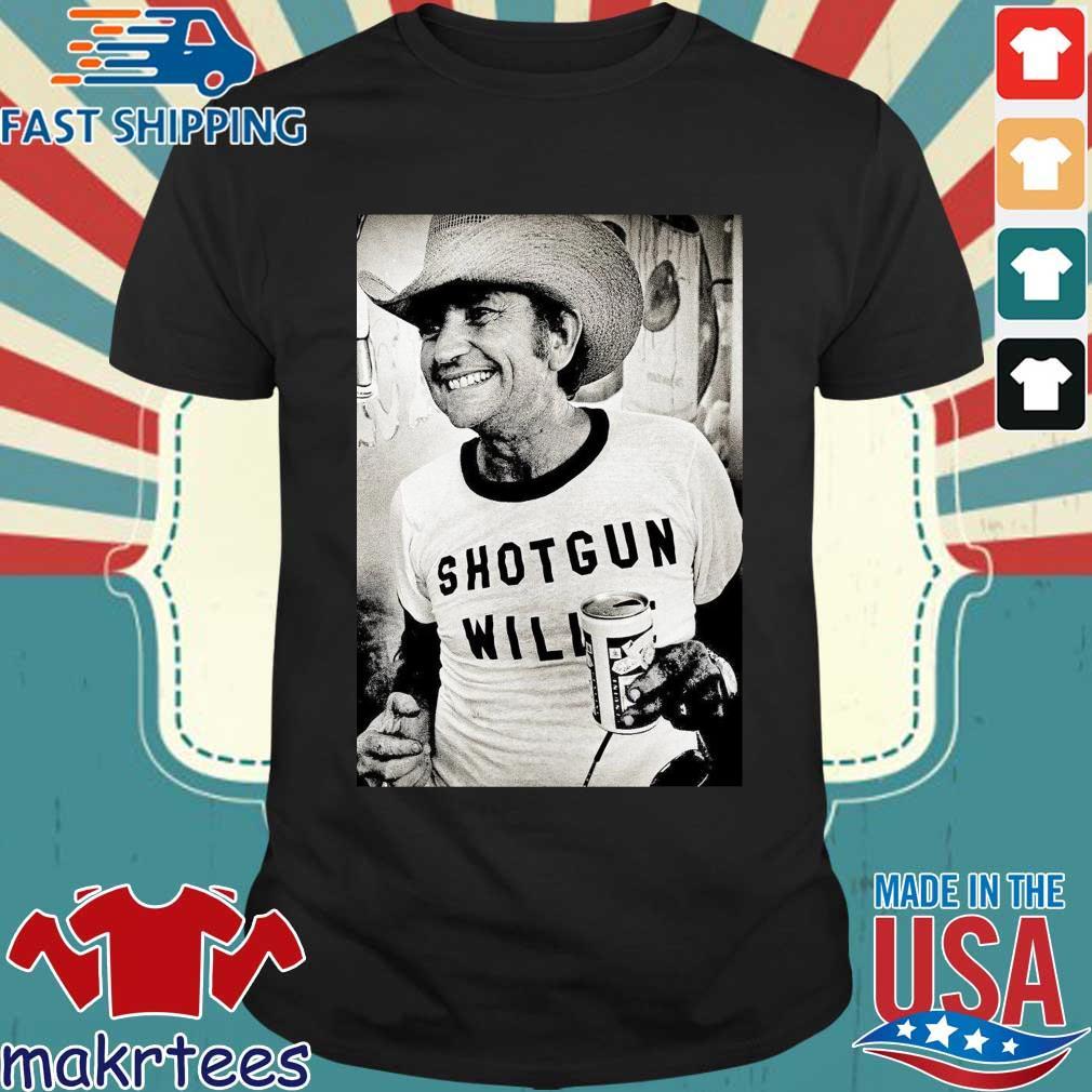 Willie Nelson Shotgun Willie Shirt