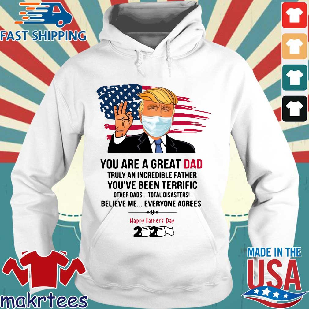 You Are A Great Dad Donald Trump Happy Father's Day 2020 Toilet Paper Shirt Hoodie trang