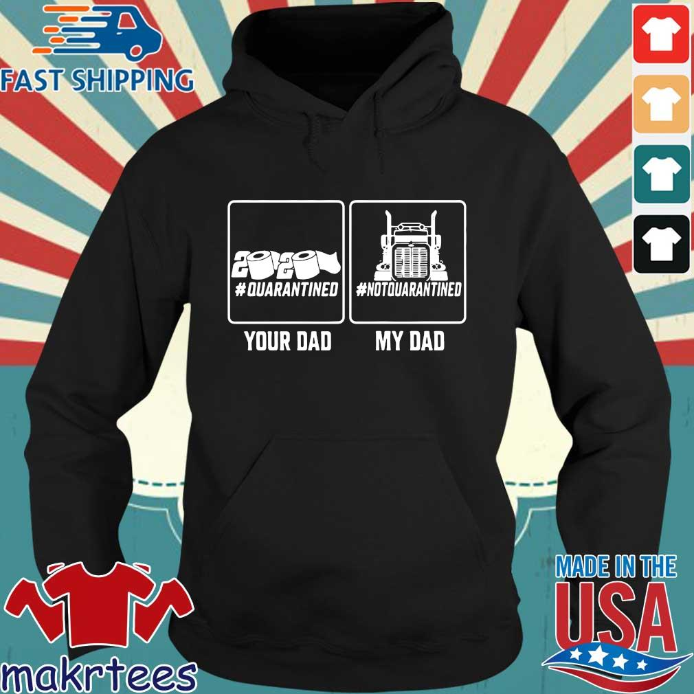Your Dad Quarantined My Dad Not Quarantined Shirt Hoodie den