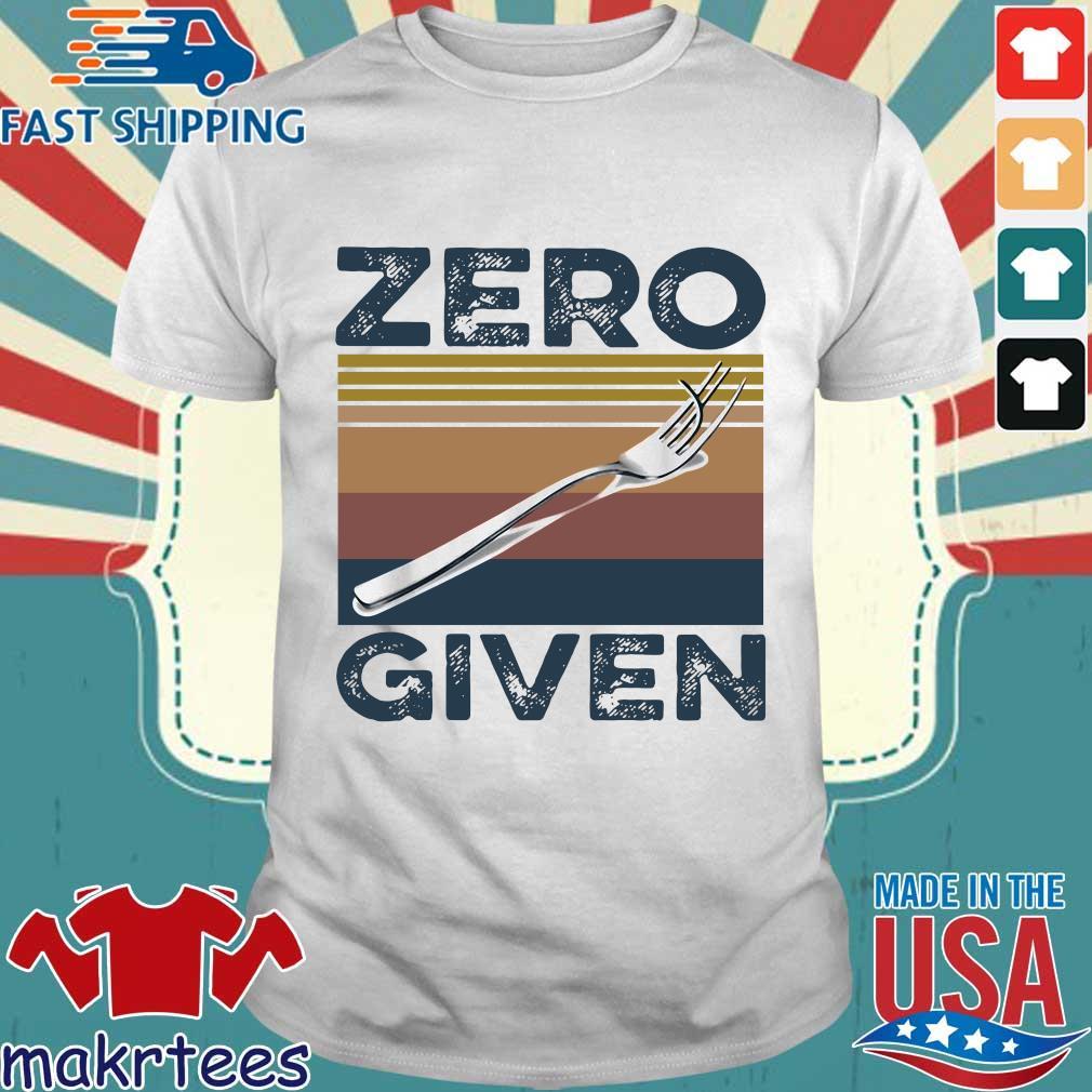 Zero Give Vintage Shirt