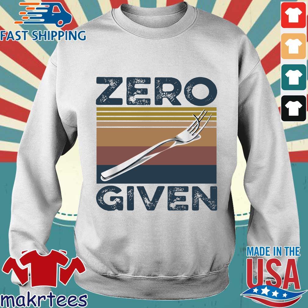 Zero Give Vintage Shirt Sweater trang