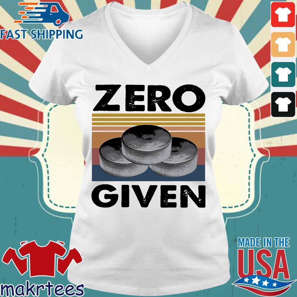 Zero Given Vintage Shirts Ladies V-neck trang