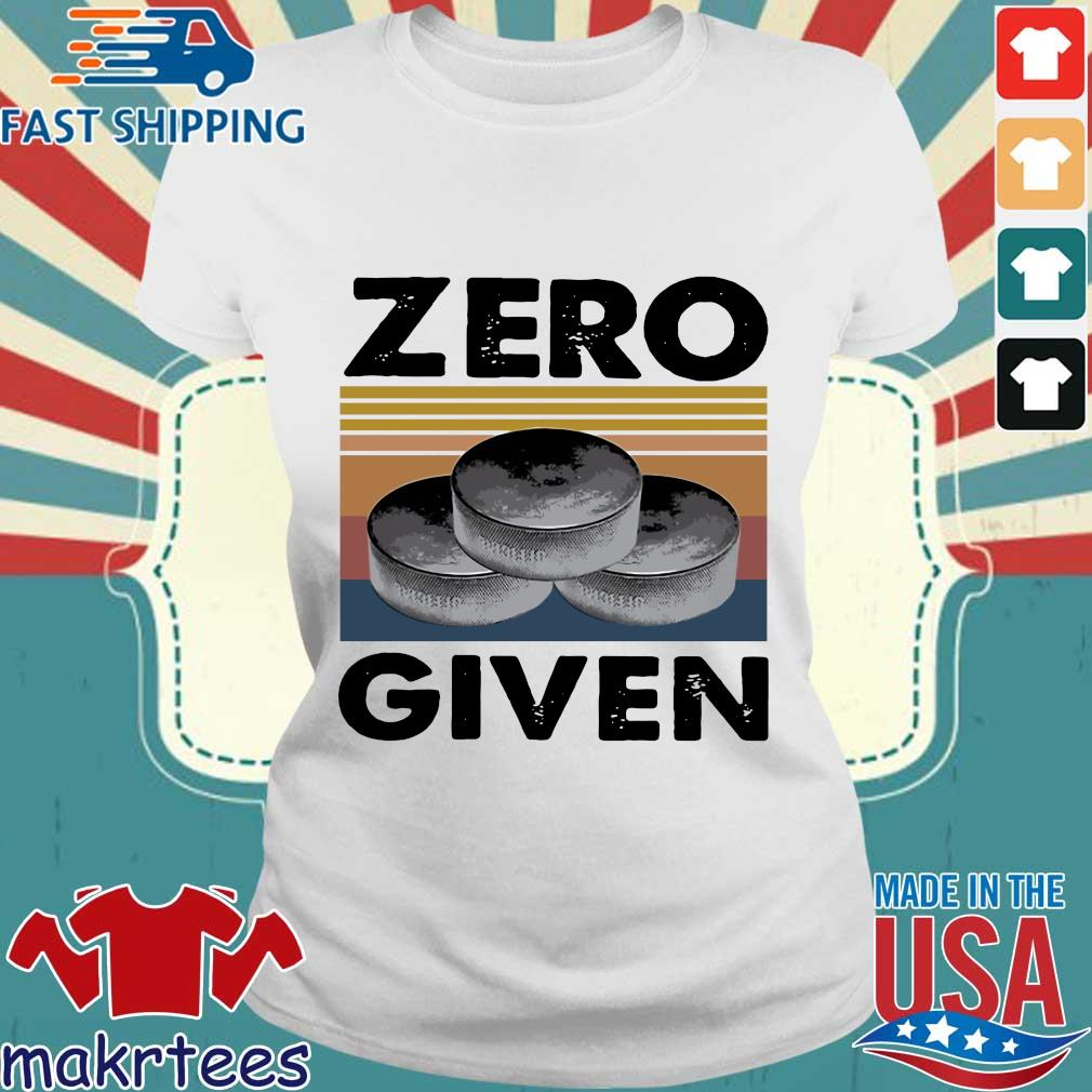 Zero Given Vintage Shirts Ladies trang