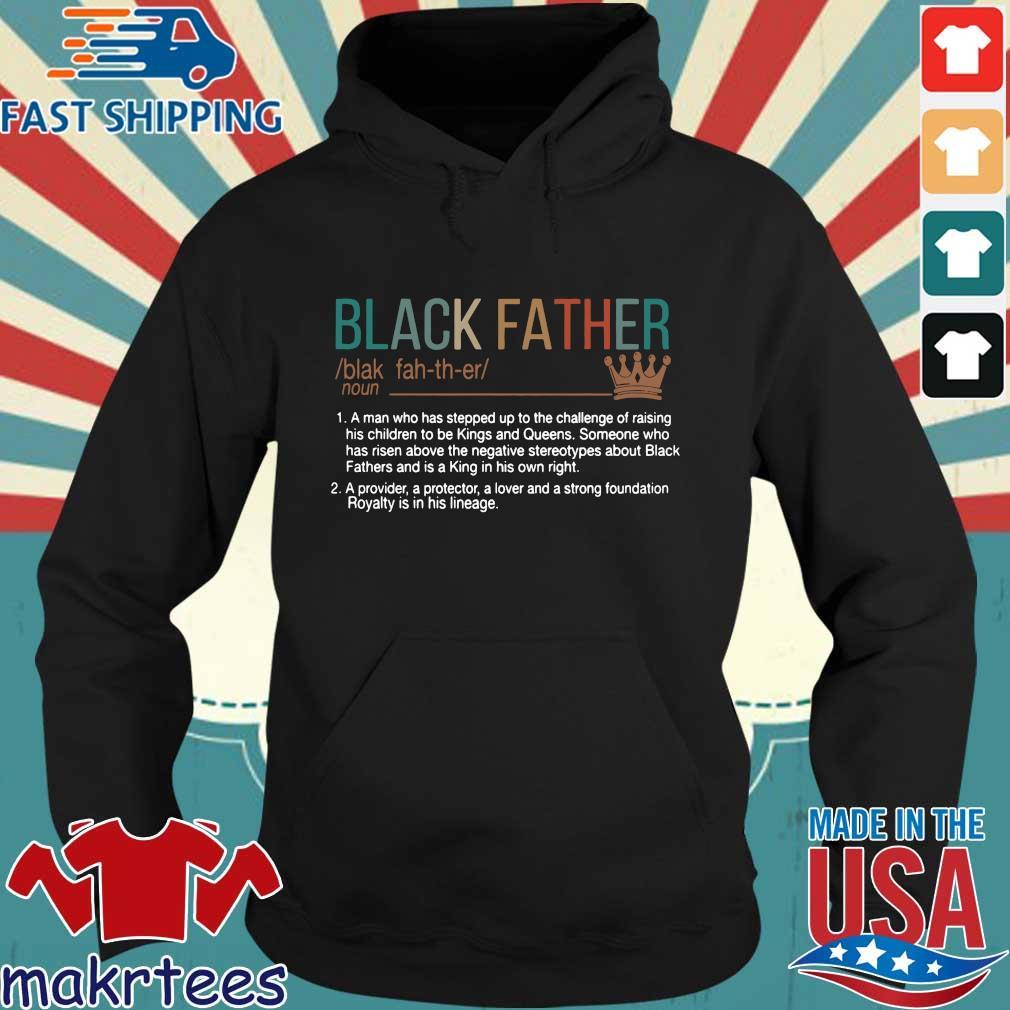 Black Father Definition Vintage Shirt Hoodie den