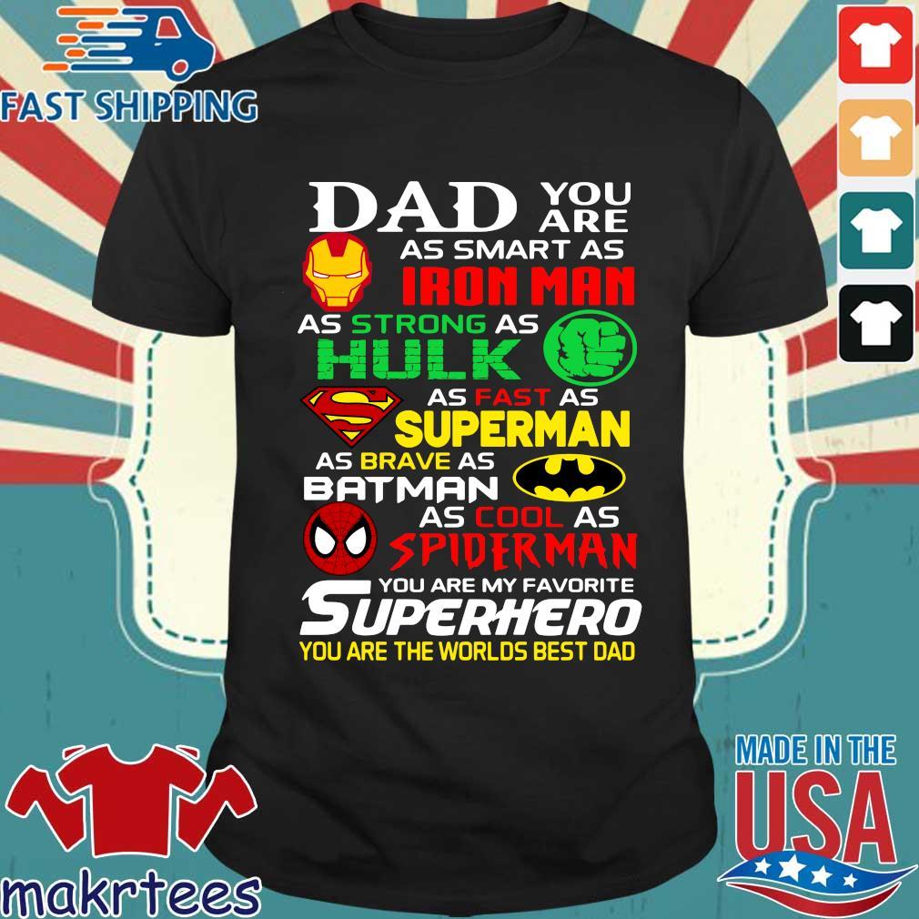 Dad Superhero Captain-America Sweatshirt
