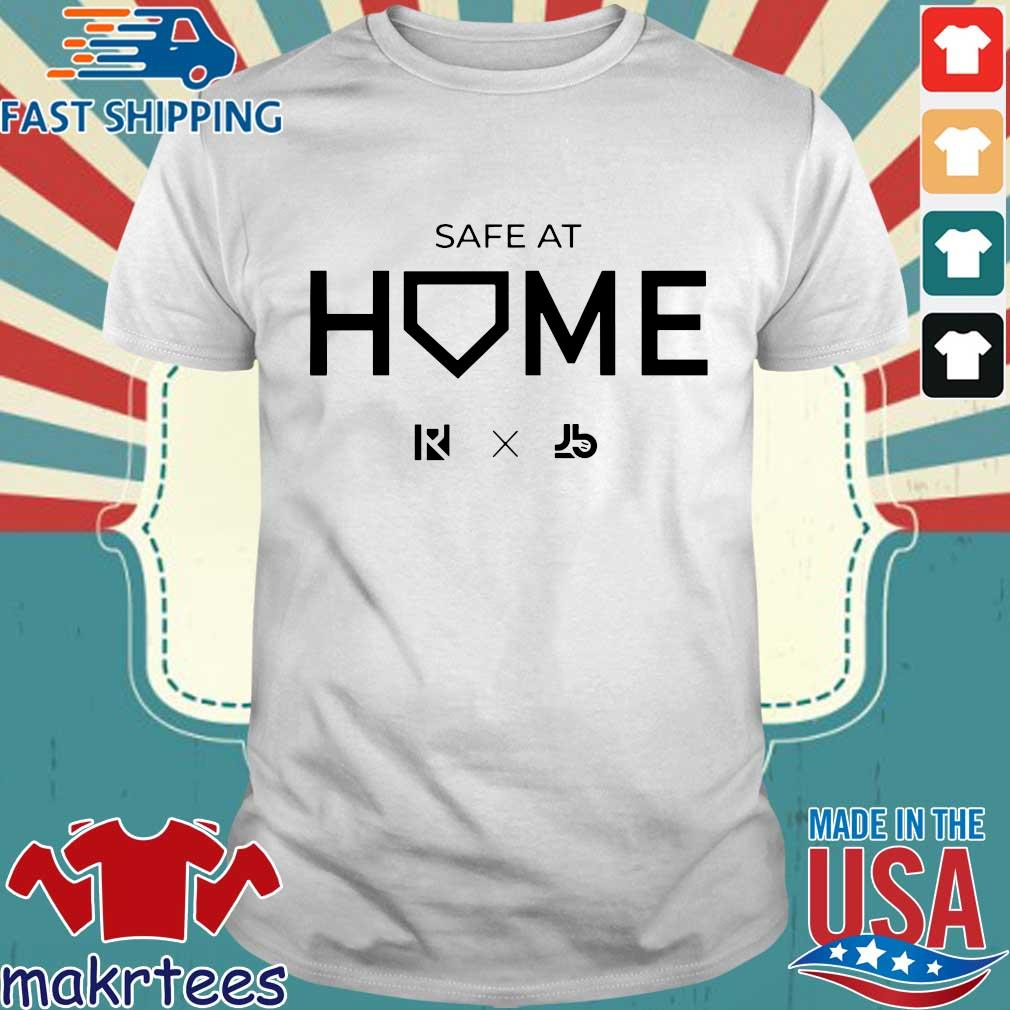 Routine X Justbats Safe At Home Tee Shirts