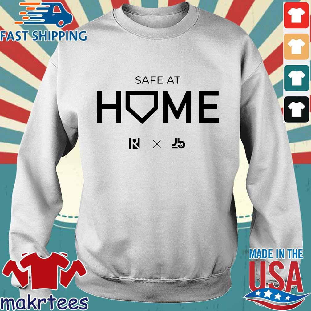 Routine X Justbats Safe At Home Tee Shirts Sweater trang