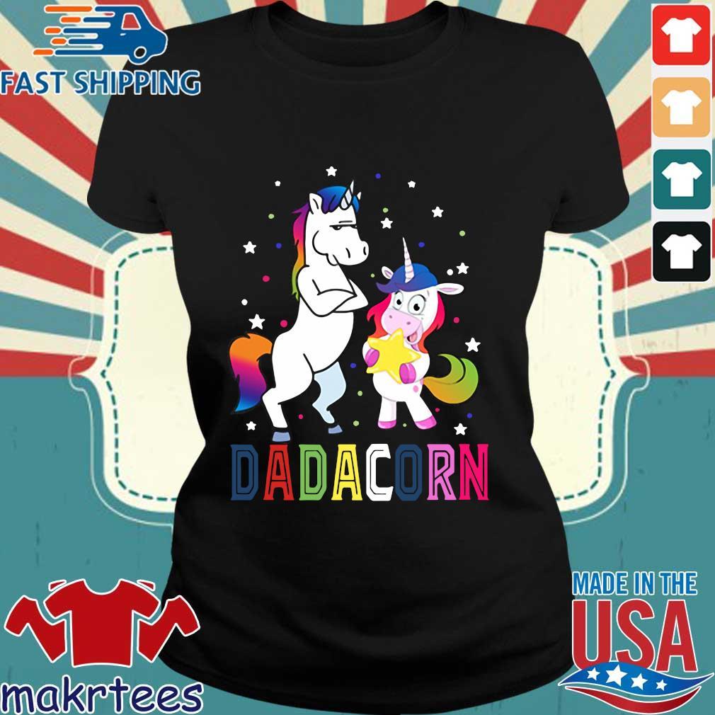 Unicorns Dadacorn 2020 Shirt Ladies den