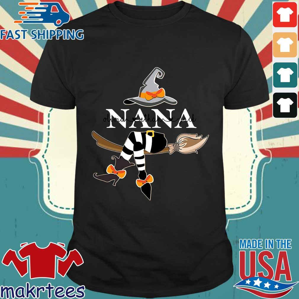 Nana olivia ethan jack witch shirt
