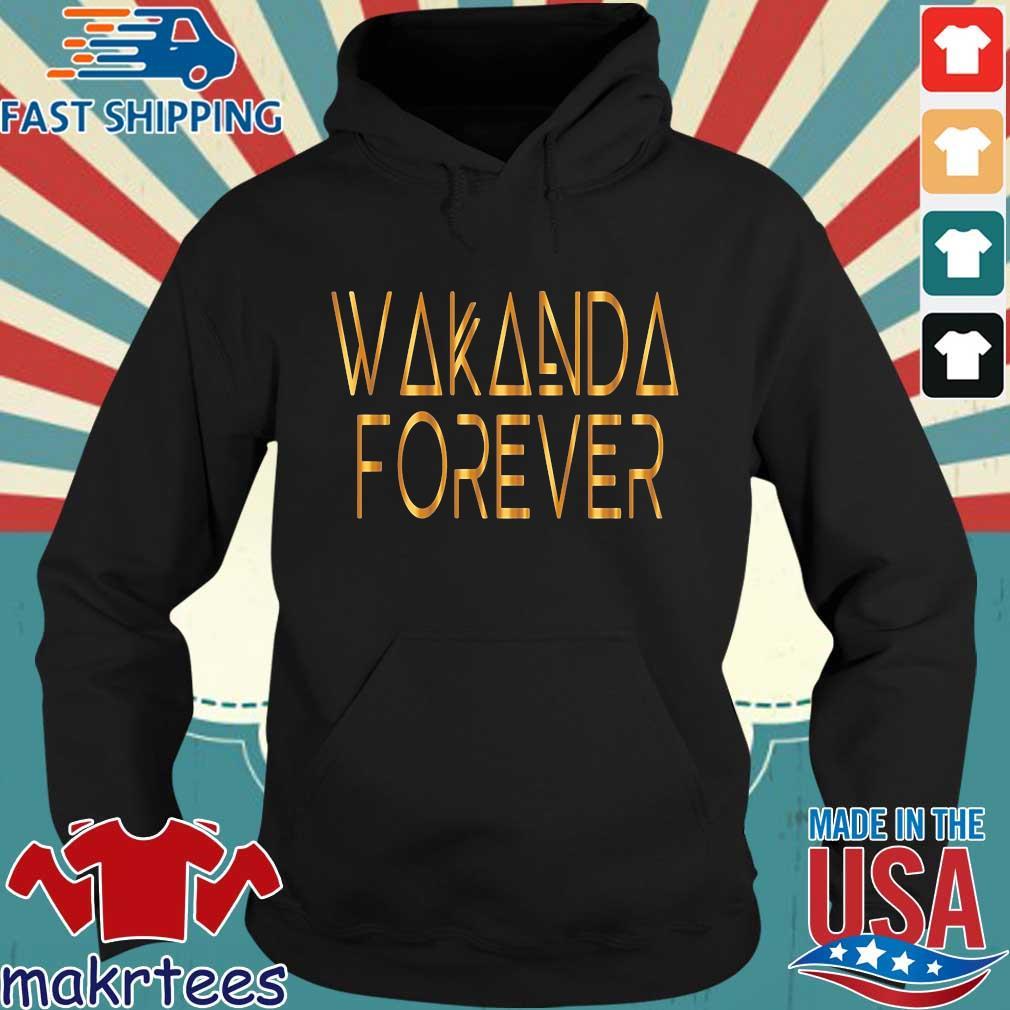 Wakanda forever gold s Hoodie den