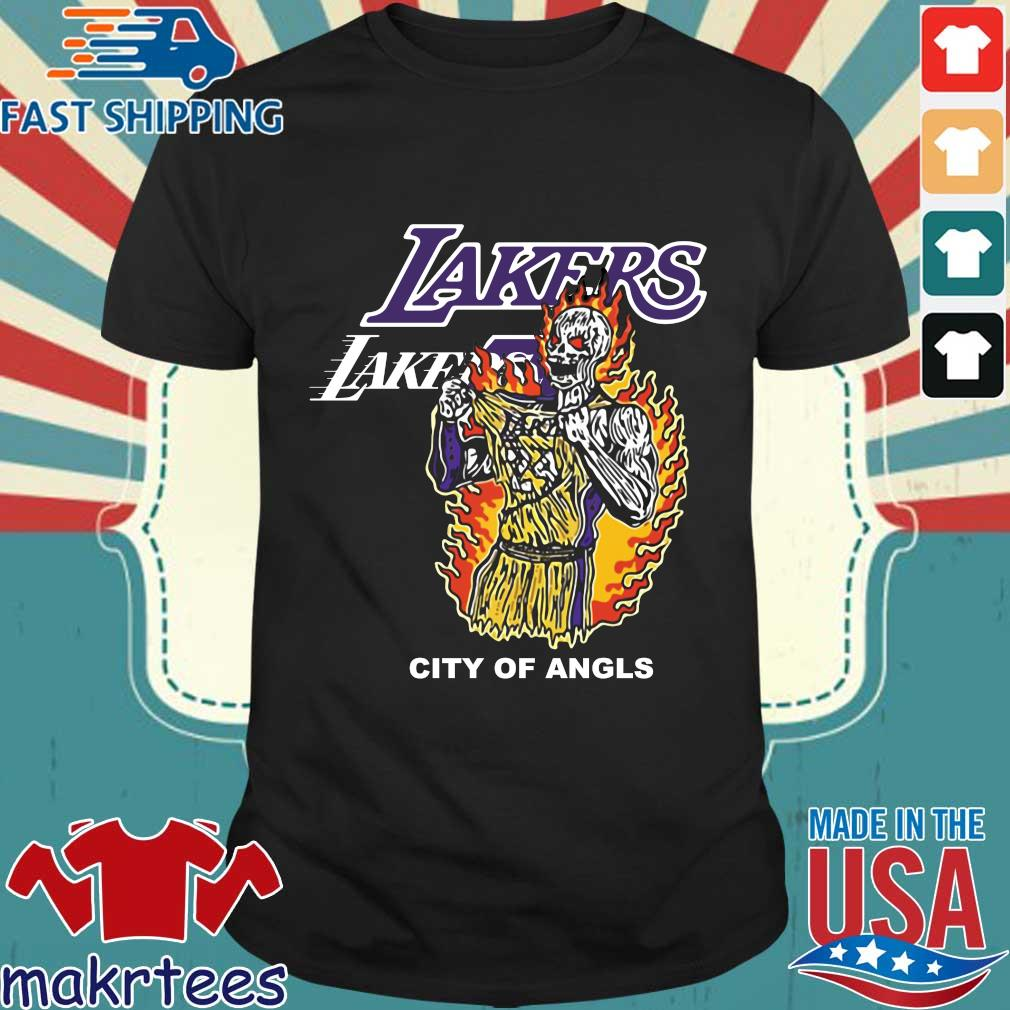 Warren Lotas Lakers City of Angels Kobe Bryant shirts