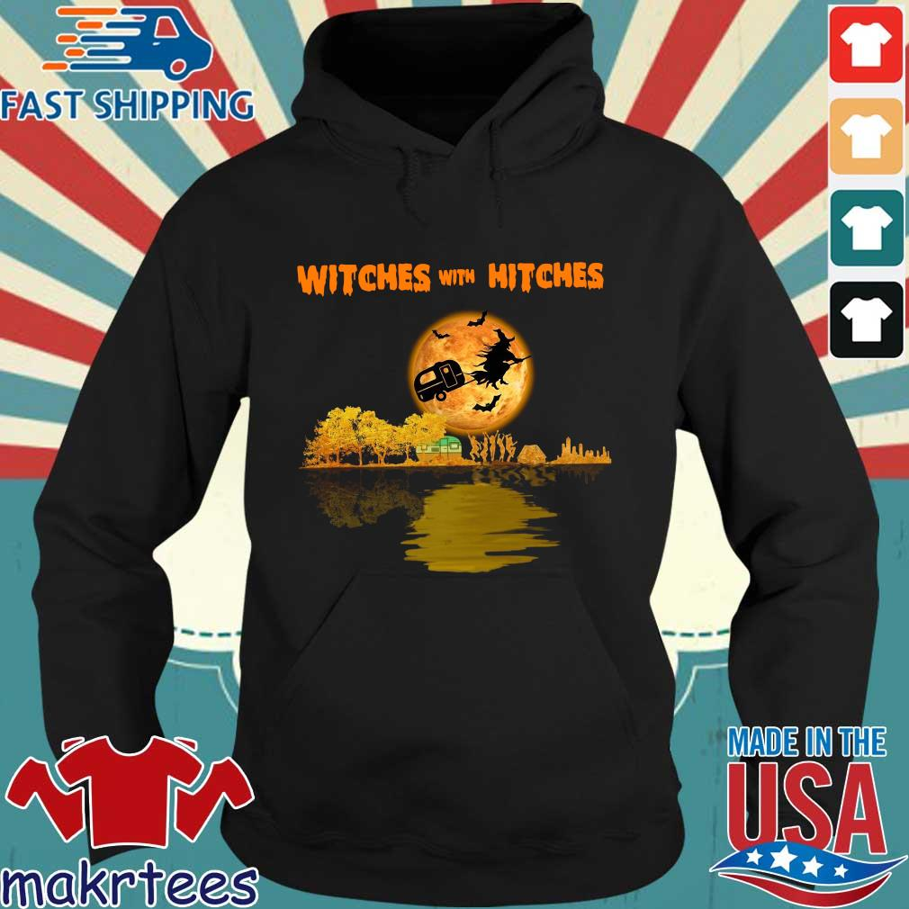 Witches with hitches camping Halloween s Hoodie den