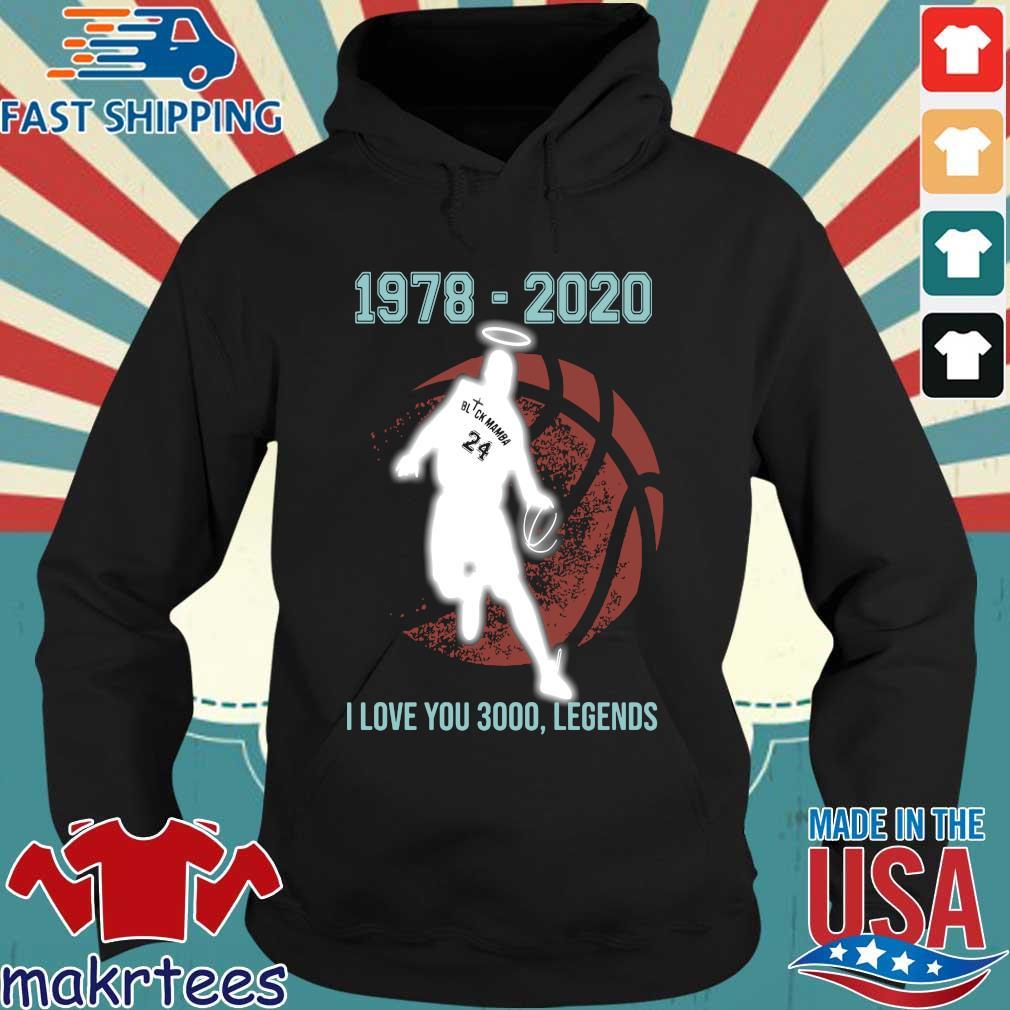 Black Mamba 1978 2020 I love you 3000 legends s Hoodie den
