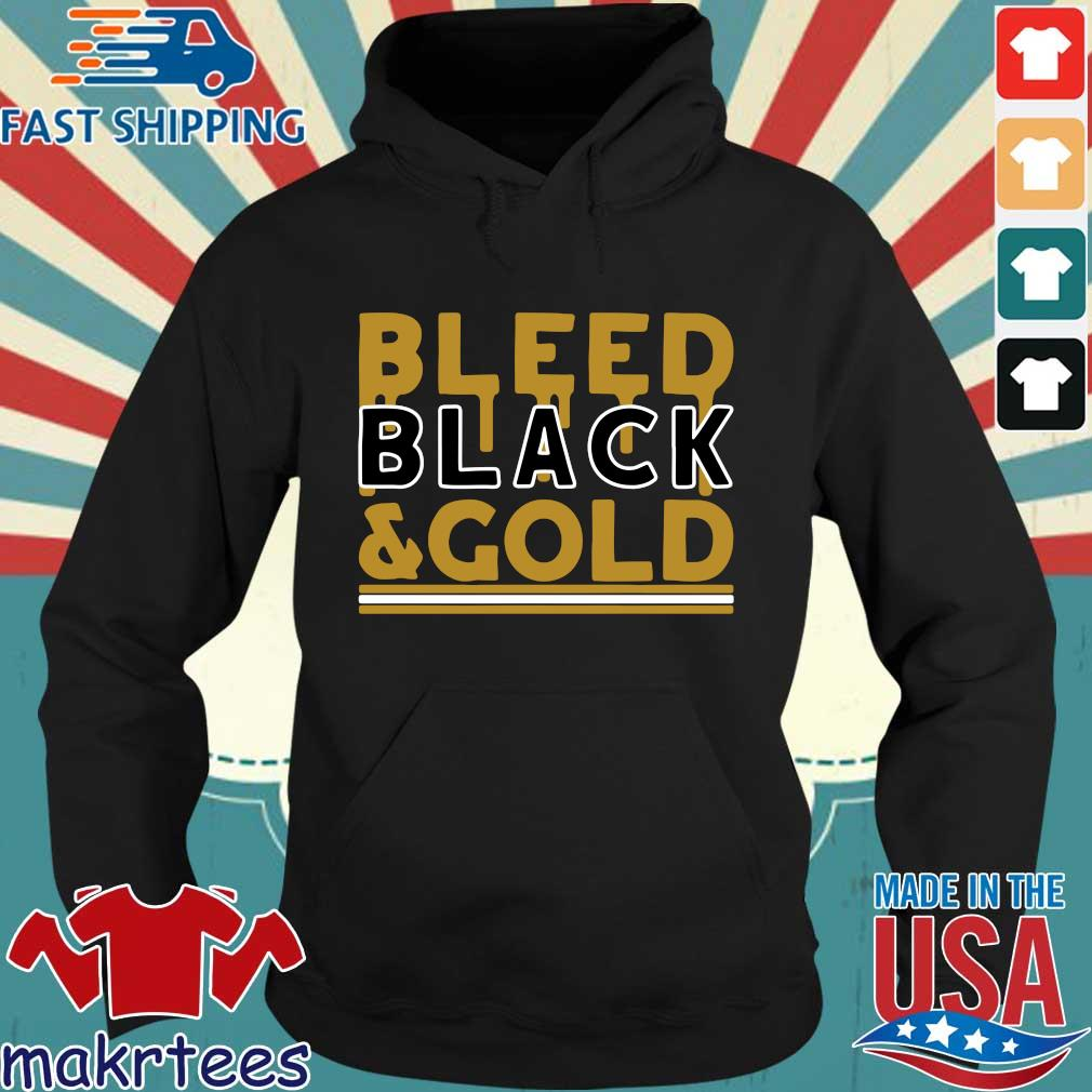 Bleed Black and Gold Pittsburgh football s Hoodie den