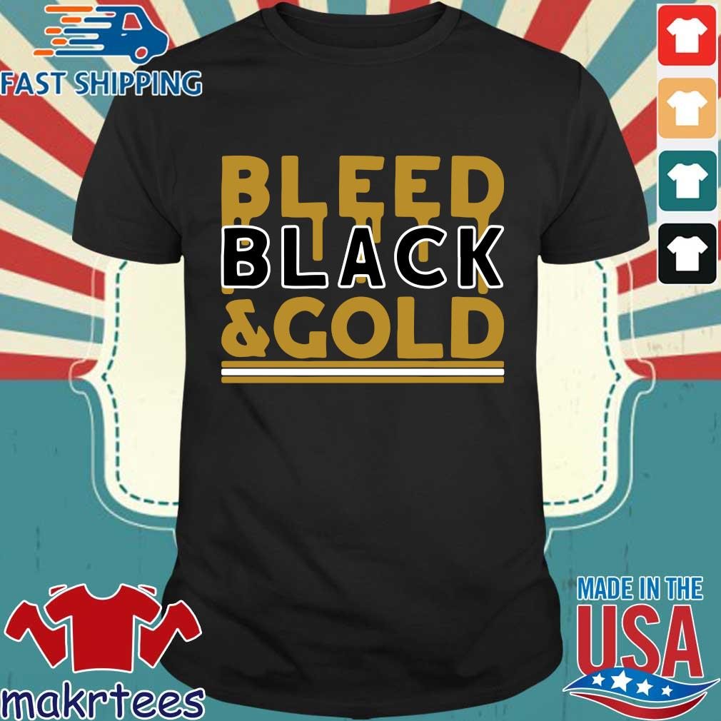 Bleed Black and Gold Pittsburgh football shirt