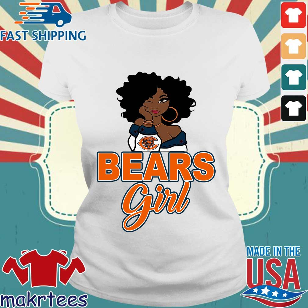 Chicago bears black girl s Ladies trang