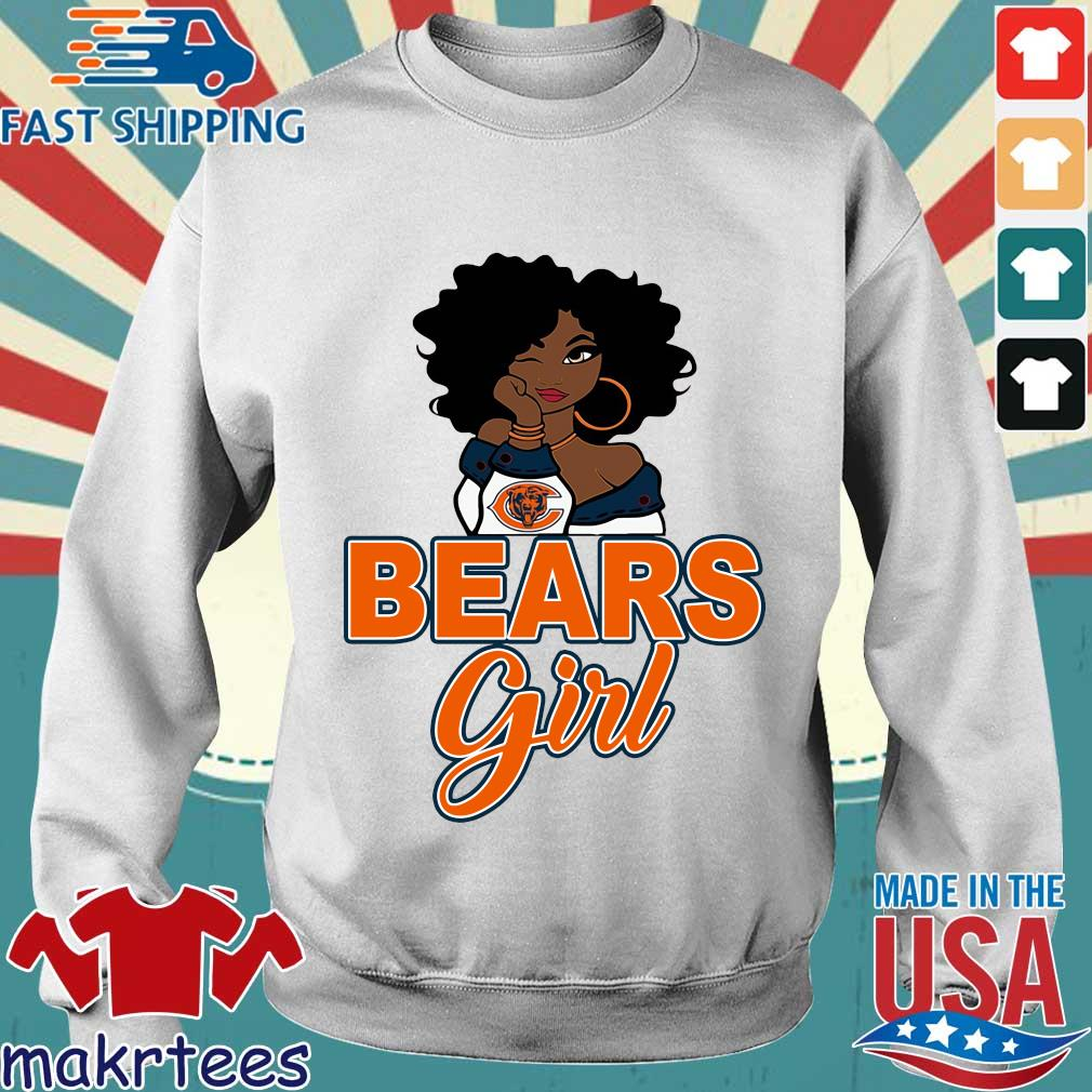 Chicago bears black girl s Sweater trang