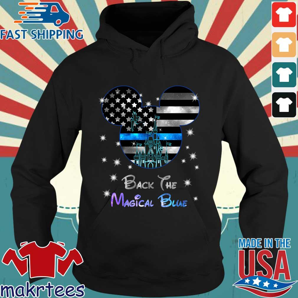 Disney Mickey Mouse back the magical blue s Hoodie den
