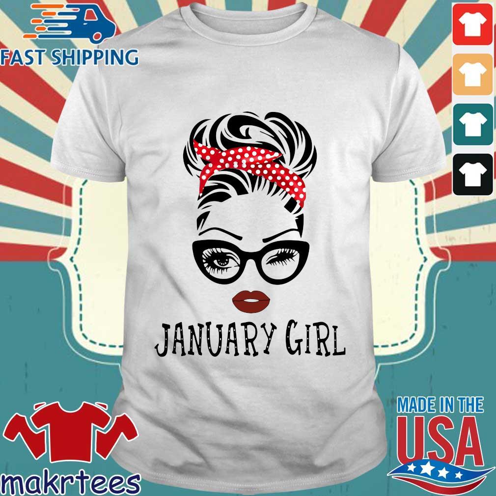 January girl shirt