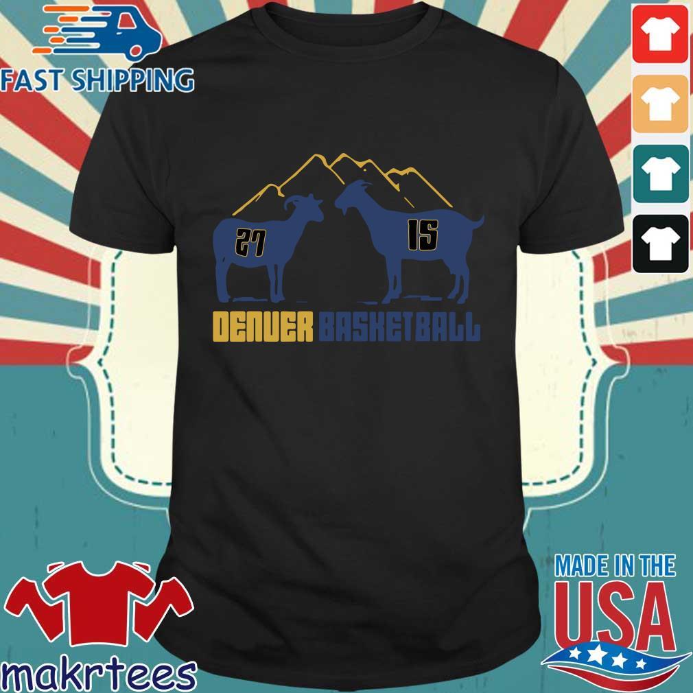 Mountain goats Denver basketball shirt