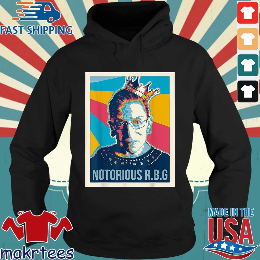 Notorious RBG Ruth Bader Ginsburg vintage retro s Hoodie den