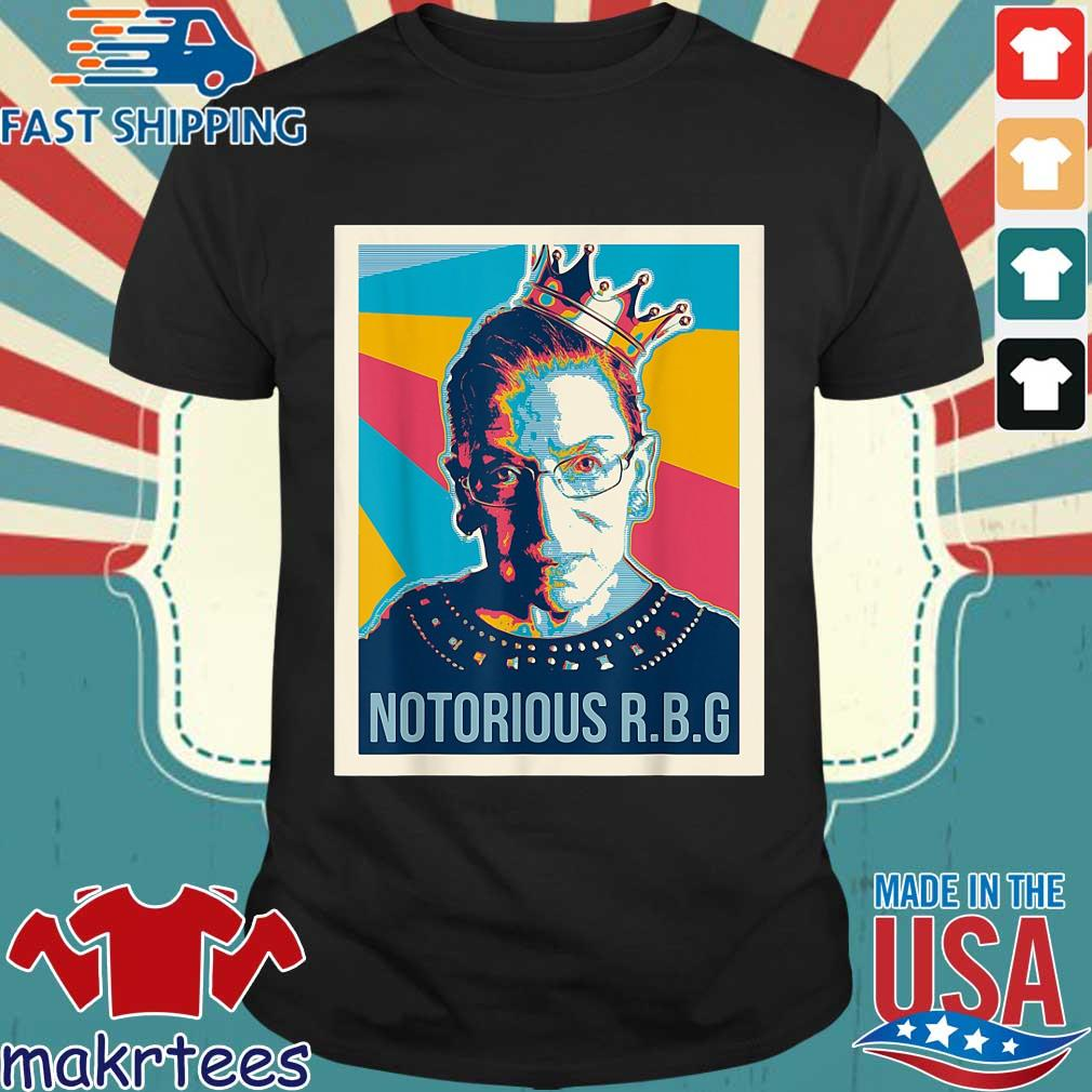 Notorious RBG Ruth Bader Ginsburg vintage retro shirt
