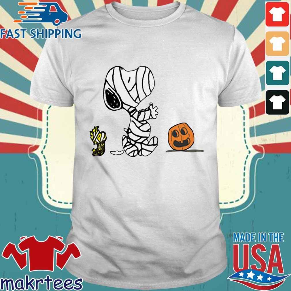 Pumpkin scare Ghost Snoopy and Woodstock Halloween shirt