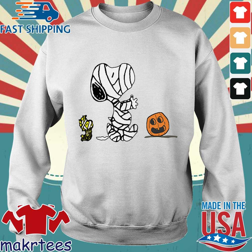 Pumpkin scare Ghost Snoopy and Woodstock Halloween s Sweater trang