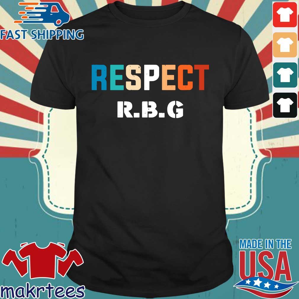 Rip Ruth Bader Ginsburg RBG respect shirt