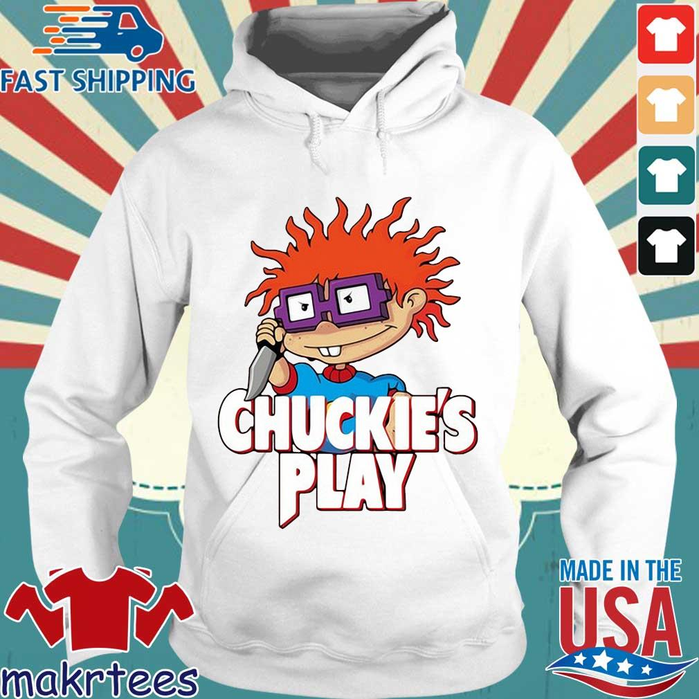 Rugrats Chuckie's play Halloween s Hoodie trang